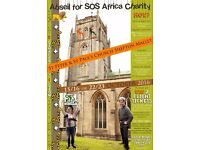 Charity Abseil Fundraising Event from St Peter and St Paul's Church Shepton Mallet
