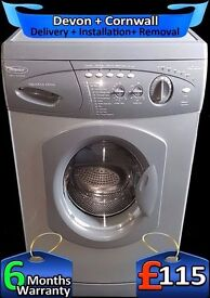6Kg Drum, Fast 1400 Spin, Hotpoint Fast wash, Graphite Grey, Fully Refurbished inc 6 Months Warranty