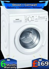 Siemens Washing Machine, Top Tech, Big 8Kg, IQ Range, A+, Factory Refurbished inc 6 Months Warranty