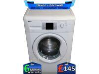 Huge 9Kg Drum, Fast 1200, LCD, A++, Beko Washing Machine, Factory Refurbished inc 6 Months Warranty