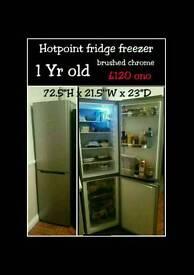 1yr old fridge freezer