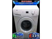 Zanussi LCD Washing Machine, 6Kg, Fast Wash, Fast 1400, Fully Reconditioned inc 6 Months Warranty