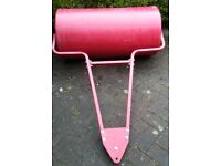plastic water filled towed lawn roller £50