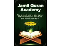 Quran class with Tajweed Male and female teachers Home and online classes Quran Tution