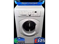 Hotpoint Washing Machine, Super Fast 1600, Quick Wash, LCD, Fully Refurbished inc 6 Months Warranty