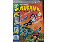 Futurama Comics Issue 1 unopened