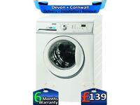 Quick Wash, 1200 Spin, 8kg Drum, Zanussi Washing Machine,Factory Refurbished inc 6 Months Warranty