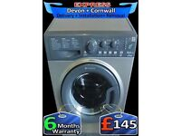 Top Hotpoint Washing Machine, Big Drum 8kg, Fast Wash, Fully Reconditioned inc 6 Months Warranty