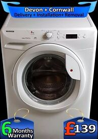 1400 Fast Spin, Big Load Hoover Fast Wash, AA+ Rated, LCD, Fully Refurbished inc 6 Months Warranty