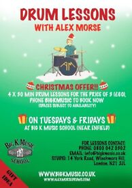 Drum Lessons Xmas Offer!