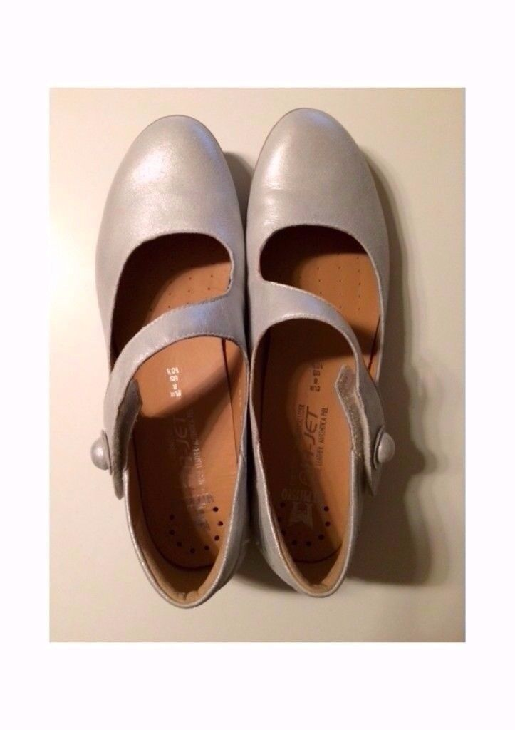 Mephisto - Odalys Silver Women's Shoes, Size 8