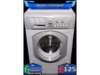 Graphite Grey, Fast 1300, Hotpoint Big 7kg Washing Machine, Fully Refurbished inc 6 Months Warranty