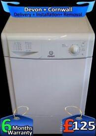 8Kg Big Drum, Indesit Condenser Dryer, Many Programs, Fully Refurbished inc 6 Months Warranty