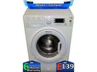 Rapid Wash, Hotpoint Washing Machine, Full LCD, Fast 1400, Factory Refurbished inc 6 Months Warranty