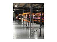 Warehouse racking and shelving