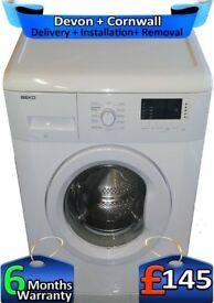 Fast 1400, A++, LCD, Big 8KG, Quick, Beko Washing Machine, Factory Refurbished inc 6 Months Warranty