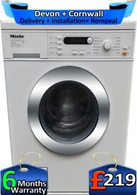 Miele Washing Machine, LCD, Fast 1400, 6Kg Load, Top Tech, Factory Refurbished inc 6 Months Warranty