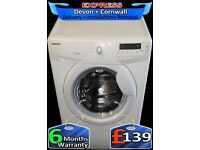 1600 Mega spin, LCD, Large 8Kg Hoover Washing Machine, Fully Reconditioned inc 6 Months Warranty