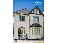K Rend approved contractor/plastering undertaken, call for your free quote