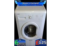 Fast 1200, Quick Wash, Beko Washing Machine, A+, 7Kg Load, Fully Refurbished inc 6 Months Warranty
