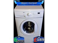 Auto Dry, Rapid 1400, Zanussi Washer Dryer, Huge 8kg, A+, Fully Refurbished inc 6 Months Warranty