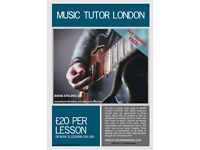MUSIC TUTOR LONDON - LOWEST PRICE GUARANTEED!!!