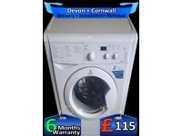 Fast 1400, Indesit LCD Washing Machine, 6KG Drum, A+, Quick, Fully Refurbished inc 6 Months Warranty