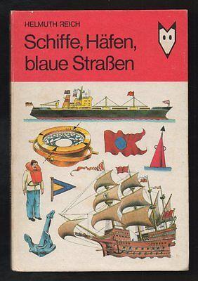 Schiffe, Häfen, blaue Straßen – Helmut Reich  DDR Kinderbuch  Mein kleines Lexik