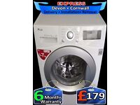 Amazing Beltless LG Top Spec Washing Machine, Plays Tunes, Fully Reconditioned inc 6 Months Warranty