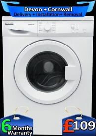 Quick Wash, 15 Min, Pro-Action Washing Machine, 6kg Drum, Factory Refurbished inc 6 Months Warranty