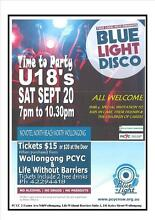 U18's DANCE EVENT - BLUELIGHT North Wollongong Wollongong Area Preview
