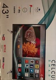 Celcus Smart 43inch HD 1080p Television