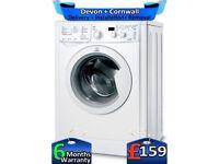 45 Min Wash'N'Dry, Fast, Indesit Washer Dryer, 6+5KG Load, Factory Refurbished inc 6 Months Warranty