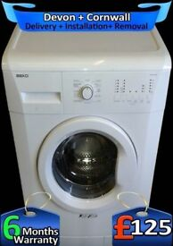 Fast 1200, Rapid Wash, Beko Washing machine, Big 7Kg, A+, Factory Refurbished inc 6 Months Warranty