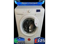 Big 8Kg Drum, Hoover Washing Machine, Rapid Wash, A+, Factory Refurbished inc 6 Months Warranty