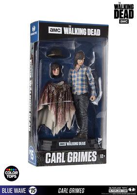 McFarlane Toys The Walking Dead - Carl Grimes 17cm Color Tops Figur