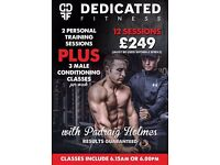 Personal Training at Dedicated Fitness Belfast