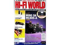 HI-FI WORLD CABLES TALK KIMBER VDH ARTIC BLACK RHODIUM AUDIOQUEST Q ACOUSTICS