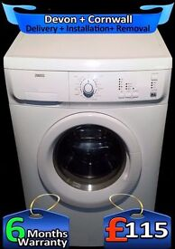 Big 6Kg, Fast 1200, Zanussi Rapid Wash Washing Machine, Fully Refurbished inc 6 Months Warranty