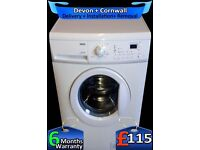 LCD, Quick Wash, A+, Zanussi 1200 spin Washing Machine, Fully Refurbished inc 6 Months Warranty