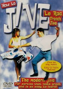 HOW TO JIVE. EASY TO LEARN MODERN JIVE. THIS IS A NEW & CELLOPHANE WRAPPED DVD