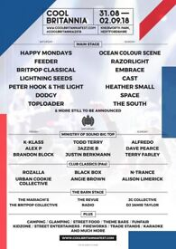 Volunteer at Cool Britannia Festival - go for free without missing any of the festival!