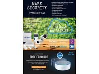 Free Echo Dot with Every Professionally Fitted Home Smart Security Package: