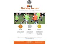 Football and Taekwondo birthday parties. Fun filled birthday parties. UK Kids active member.