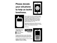 Please donate your old phone to help us tackle loneliness