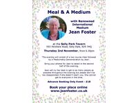 Meal & A Medium at the Selly Park Tavern on 2 November