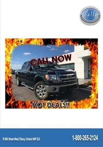 2013 Ford F-150 XLT, Leather, One Owner4x4!!