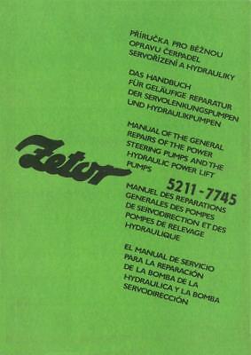 Zetor 5211 5245 6211 6245 7211 7245 7711 7745 Reparatur na sprzedaż  Wysyłka do Poland