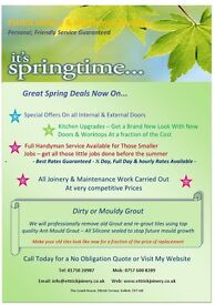 Ettrick Joinery & Handyman Service ~Springtime Deals Now On ~ Best Rates Guaranteed