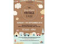 The Great British Vintage Fair Braintree Golf Club, Stisted. A great Family Day out.
